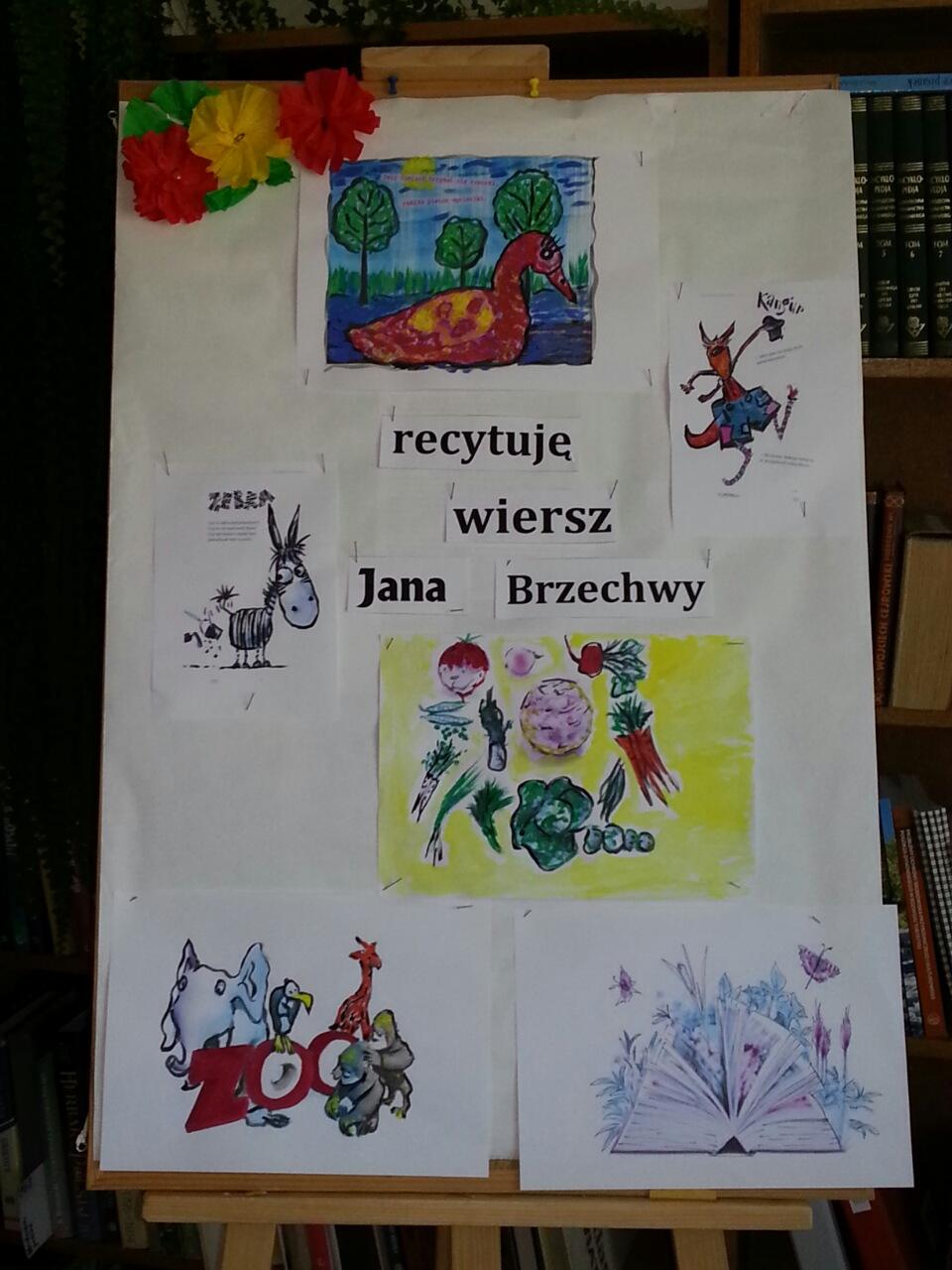 Recytuję Wiersz Jana Brzechwy Gminny Ośrodek Kultury W